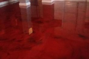 Pardoseală epoxidică cu microbile cermaice 3M