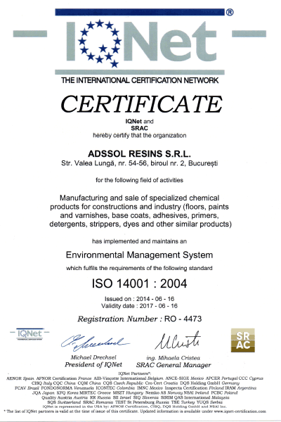 IQNET ISO 14001:2004