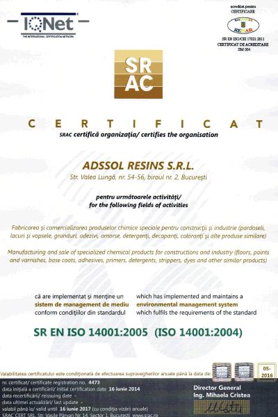 SRAC ISO 14001:2004